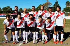 River Plate en la tarde de su retorno a competiciones interdepartamentales. Foto Fanny Ruetalo