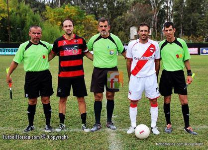 Soria, Romero, Soto, Ferreri y Rubbo. Foto Fanny Ruetalo