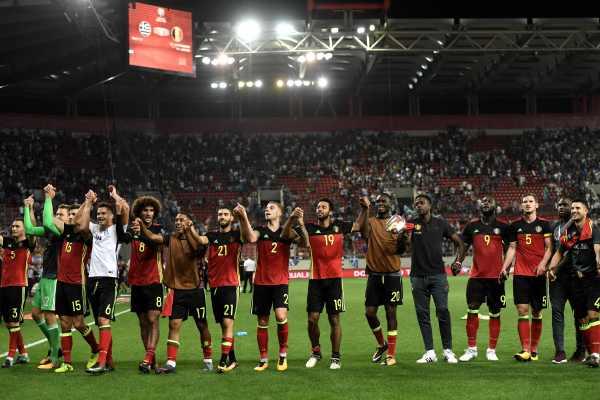 apuestas por la selección de Bélgica Mundial