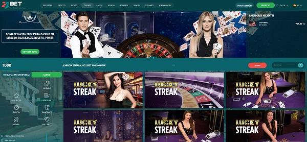 juegos de casino online en 22bet