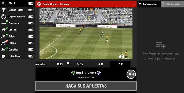 Apuestas en deportes virtuales