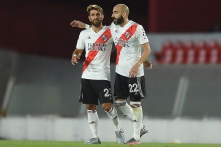 partido 1 de los cuartos de final en la copa libertadores
