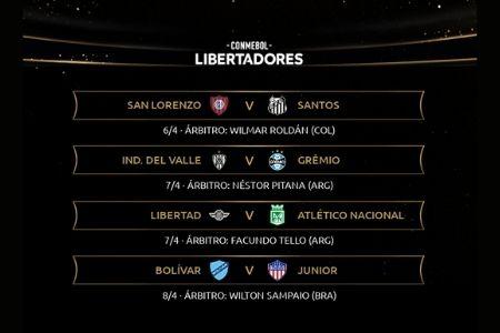 tercera ronda Copa Libertadores 2021