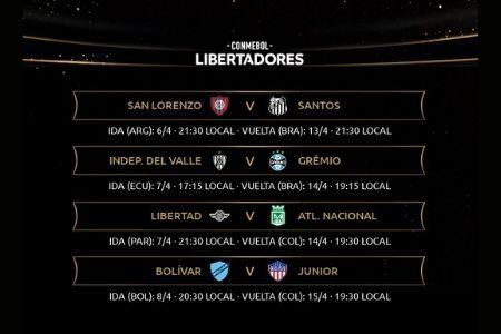 tercera ronda partido 1 de la Copa Libertadores 2021