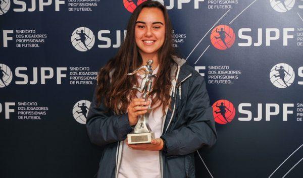 Melhor jogadora da primeira fase do Nacional de Futebol Feminino em 2014-2015