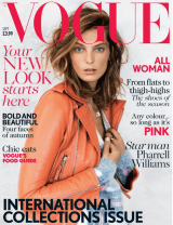 VOGUE UK: DARIA WERBOWY