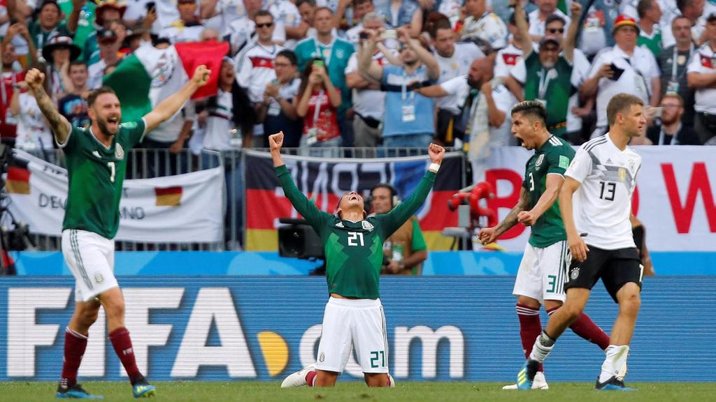 Image result for mexico's victory over the german