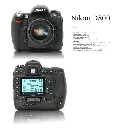 Nikon 800