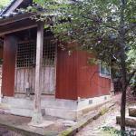 悲しみの別れ『菊岡神社』