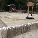『赤ちゃんの初土俵入り』山王宮日吉神社