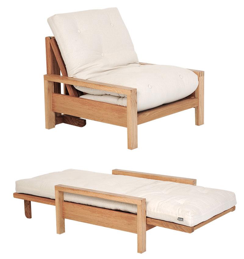 futon quad canape lit 1 place