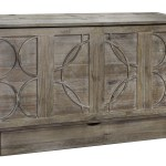 Brussels Queen Murphy Cabinet Bed Ash By Arason Furniture