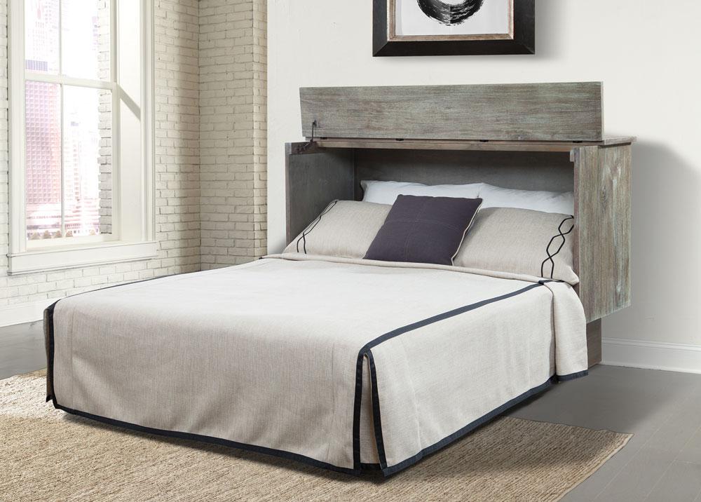 Studio Queen Murphy Cabinet Bed Ash By Arason Furniture