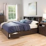 King Platform Storage Bed 6 Drawers By Prepac
