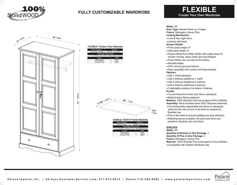 a mahogany door