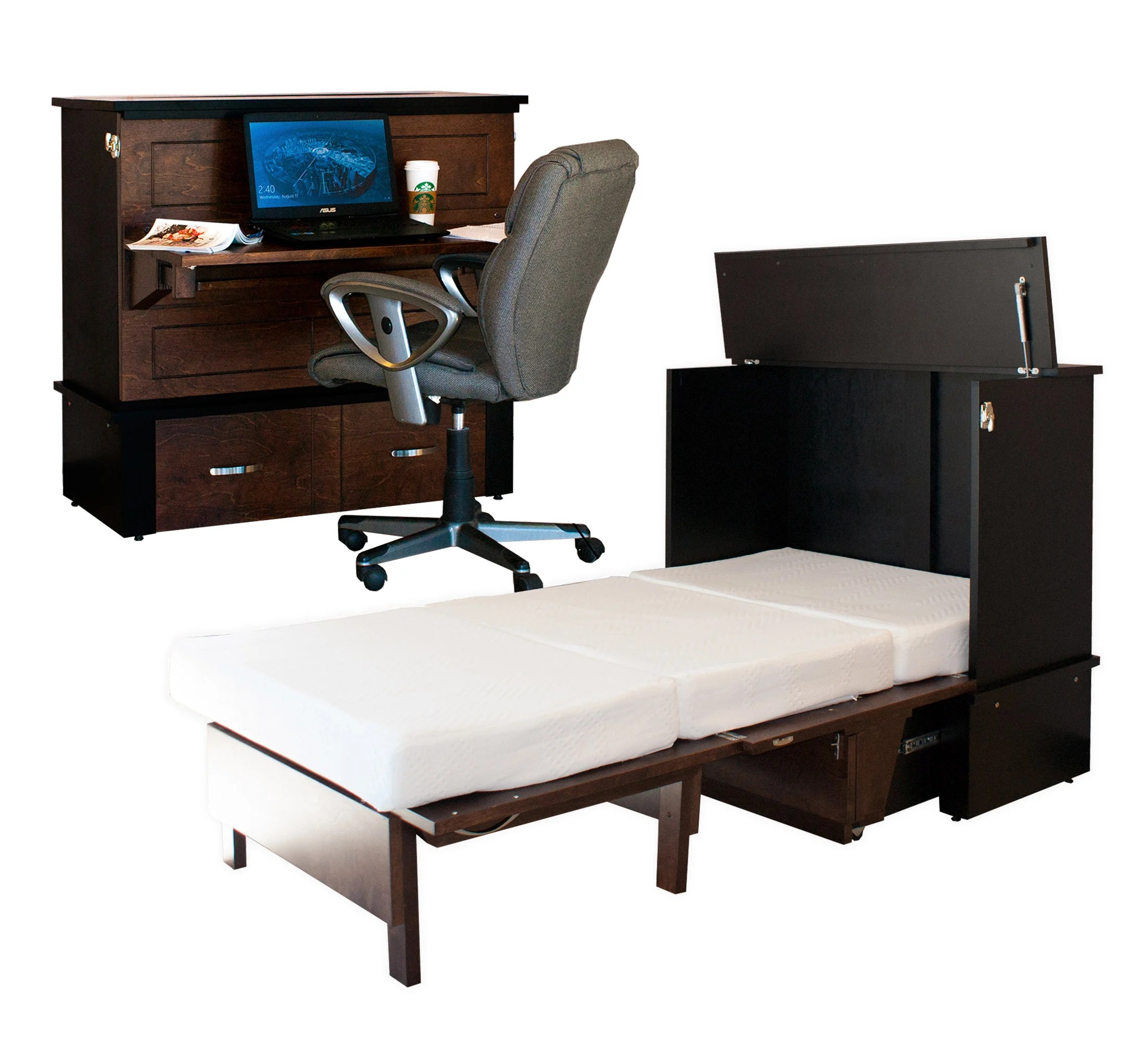Study Buddy Cabinet Bed Murphy Bed By Cabinetbed