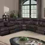 U7303c Charcoal Printed Fabric Sectional Sofa By Global Furniture
