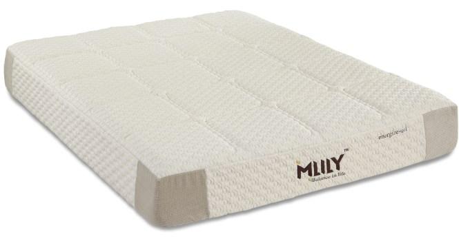 Energize 11 Inch Foam W Gel Individual Pocket Coils Mattress By Mlily