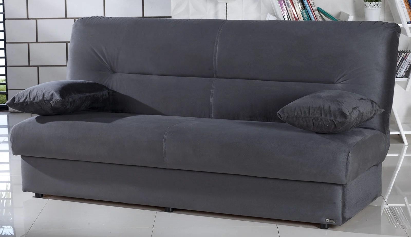 Regata Rainbow Dark Gray Convertible Sofa Bed By Istikbal