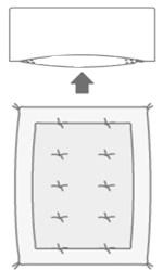 futon rim cover