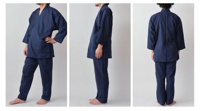 kimono samue pajamas