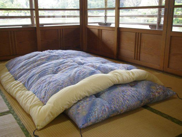 handgemachten japanischen Futon-Matratzen