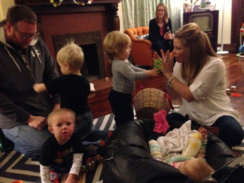 So many babies in my house.