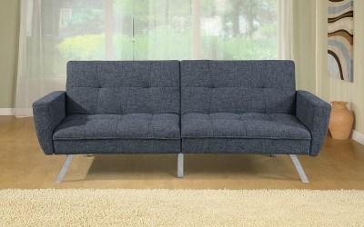Adjustable Sofa – Ash Black Polyfiber