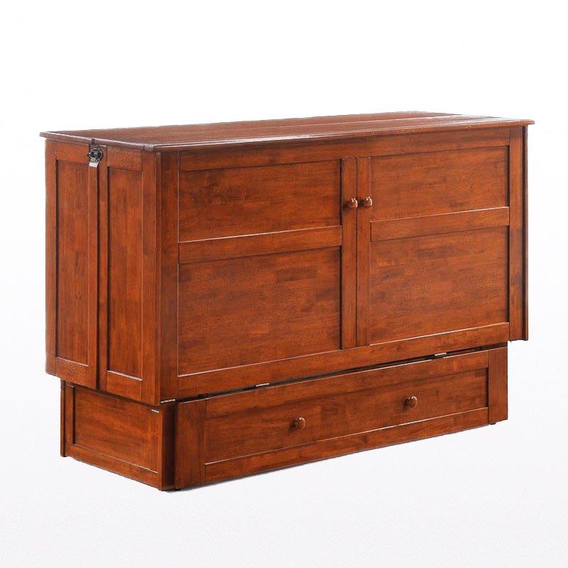 Clover Murphy Cabinet Bed – Queen – Cherry