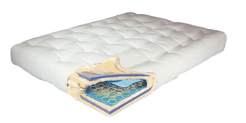 708 – Innerspring Comfort Coil Futon Mattress