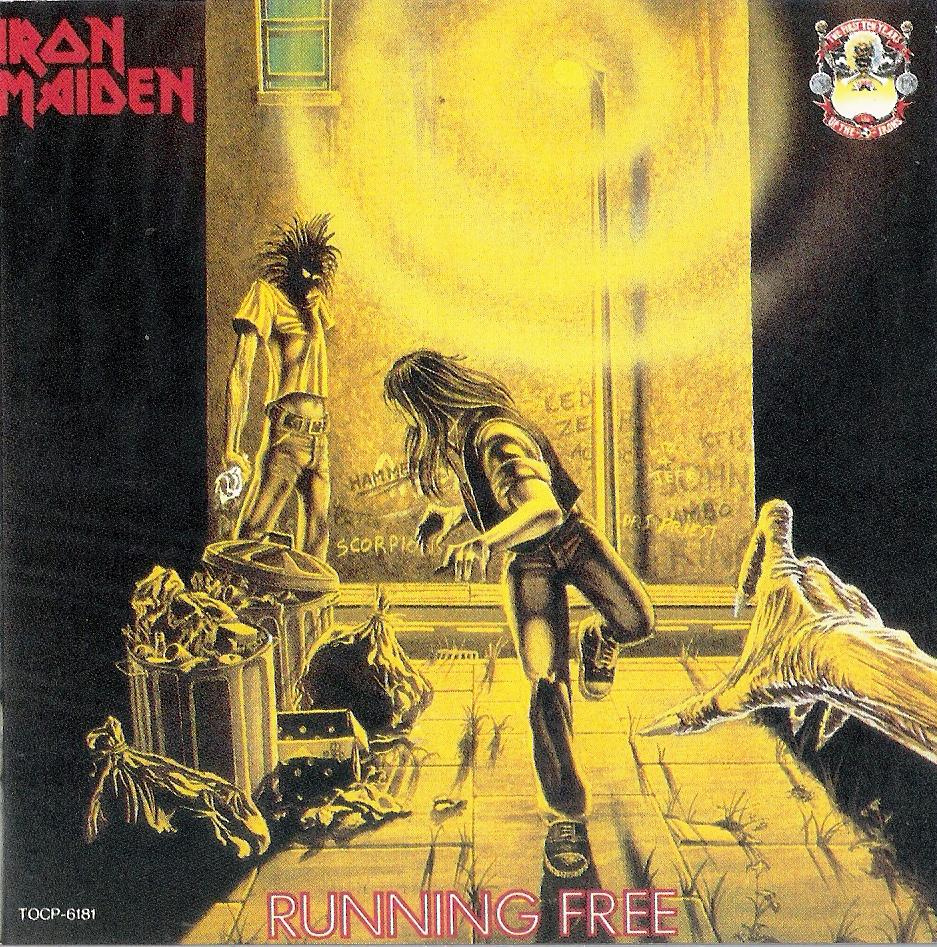 Running Free/Burning Ambition, 1º single pela EMI
