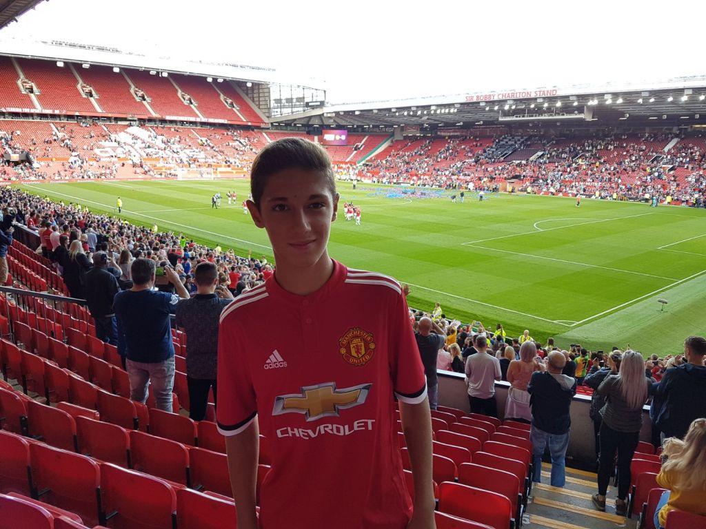 Pau at Old Trafford in 2017