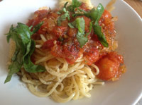 [25 Min] Spaghetti Pomodore
