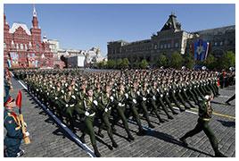 parata militare russa