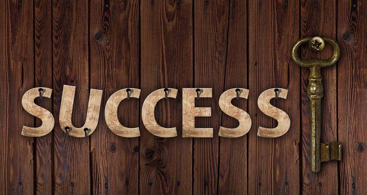 success, key, career