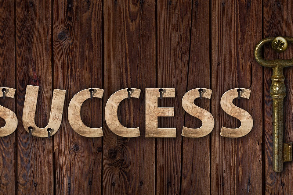 success, key, career