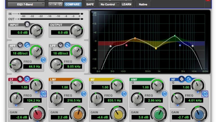 EQ 3 - Equalizador da Avid