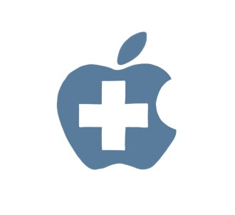 Apple red cross