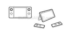 """Imagem conceptual da Nintendo """"NX"""""""