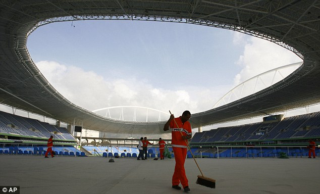 Joao Havelange Stadium. Source: AP