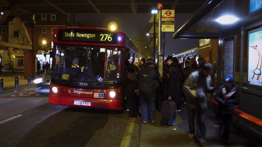 Demand for London's bus services is expected to rise substantially over the next decade. Source: Nicobobinus/ flickr