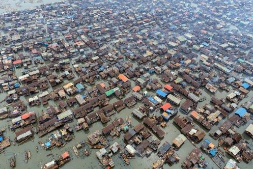 Aerial view of Makoko Image from thecreatorsproject.vice.com