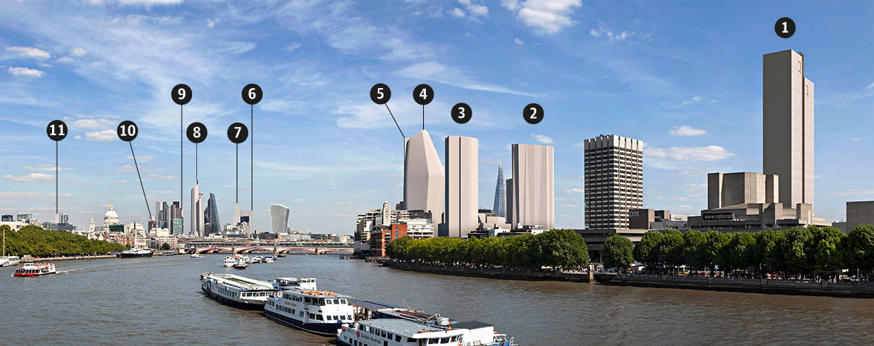 Discover London's future skyline. Credits: Guardian Cities/ Hayes Davidson