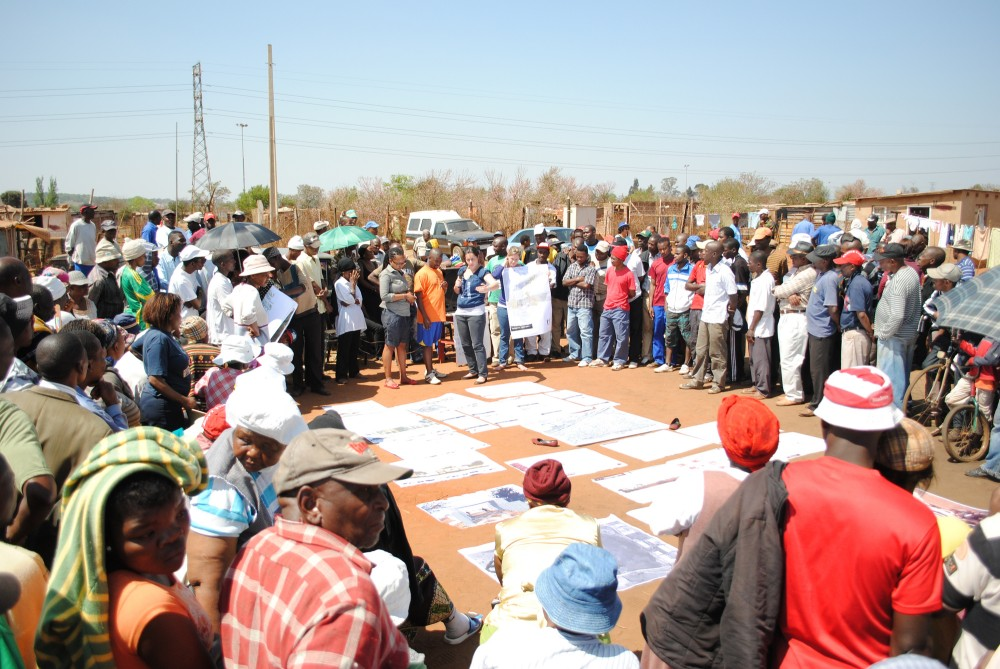 Plans for Slovo Park Community Center. Image Courtesy of Slovo Park Project Student Group 2010