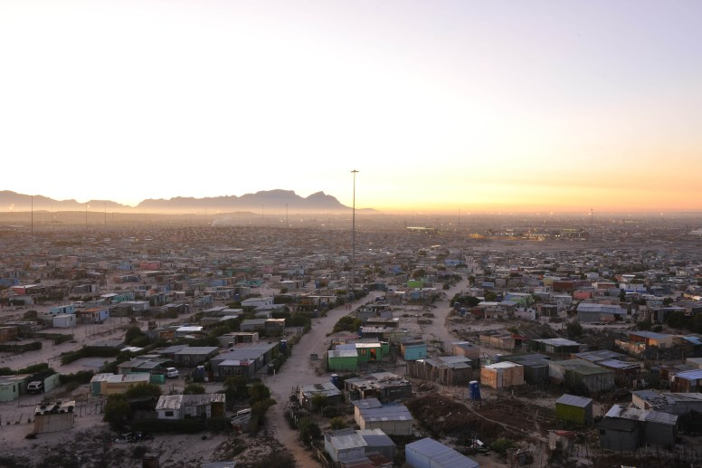 Township Cape Town Night View 1