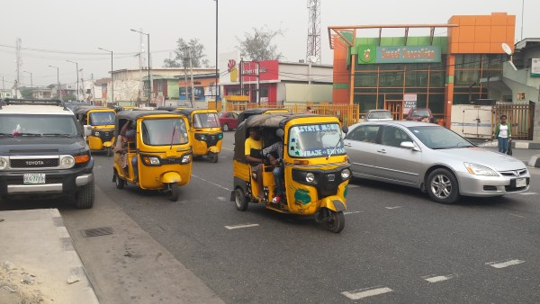 Keke NAPEPs in traffic