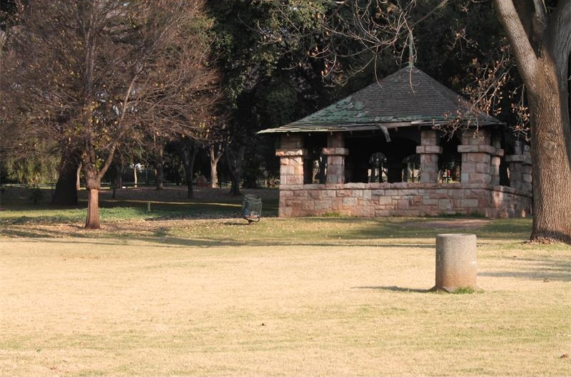 Rhodes Park in Johannesburg is an underutilised public space.
