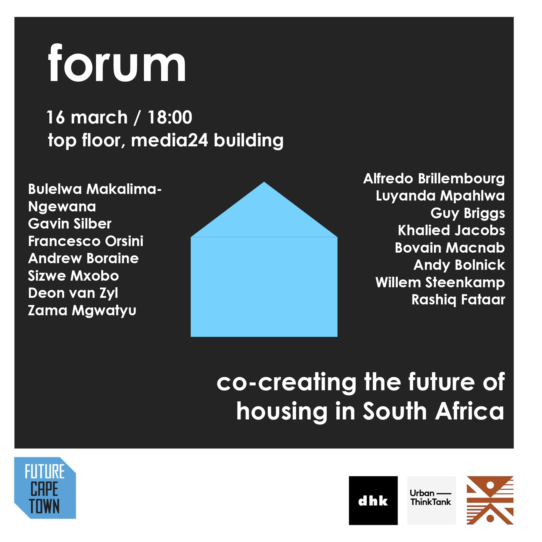 event co creating the future of housing in south africa our