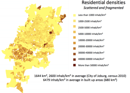 Residential densities