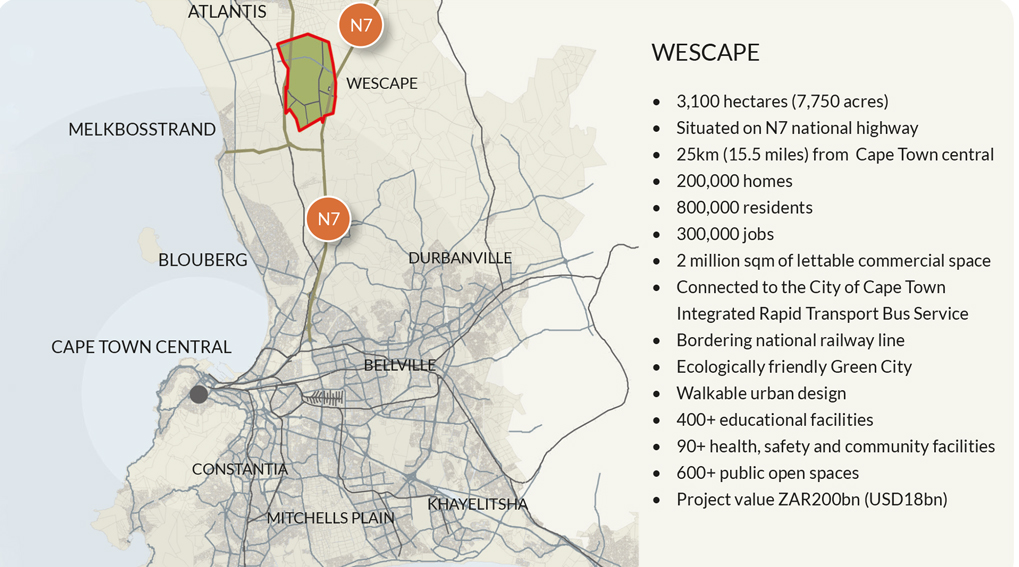 Wescape-locality-map